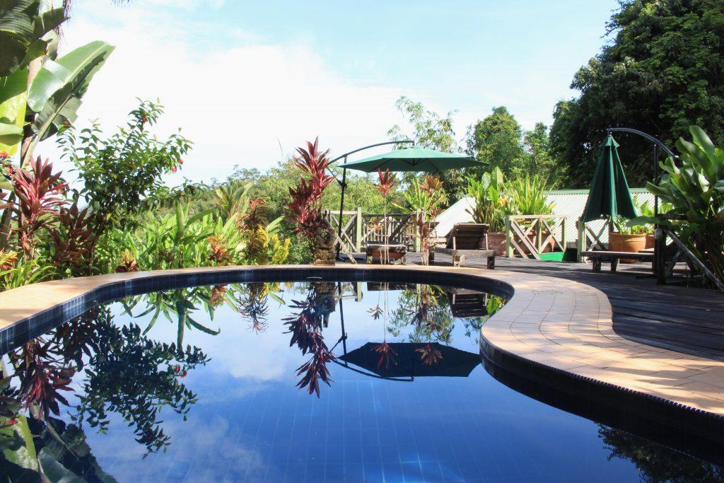 Nanga Damai Homestay Swimmingpool